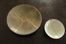 kintsugi / ...As a philosophy it treats breakage and repair as part of the history of an object, rather than something to disguise.