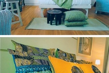 Africa Inspired Home / I have always wanted to have a colorful Africa inspired room.
