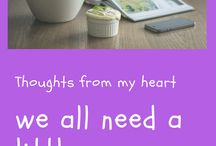 Inspiration thoughts Ebook by Hilda / motivation for a daily life