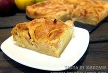 Tarta de manzana fácil de preparar / Tarta de manzana fácil de preparar Fácilísima receta paso a paso Incluye video  http://www.golosolandia.com/2014/11/tarta-de-manzana-facil-de-preparar.html
