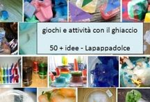 04. ICE PLAY - SUMMER / giochi col ghiaccio per l'estate / by Lapappadolce