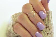 nail purpel