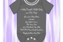 Lavender and Pearls baby shower for baby girl / Vaje's baby shower / by Leslie Perez