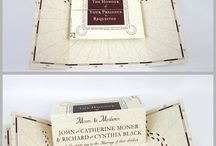 Harry Potter Wedding {wedding ideas} / Inspiration for Harry Potter brides and grooms