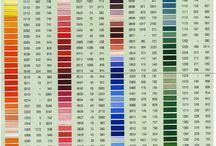 grafico filo colori