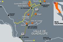 Mexico - wine maps