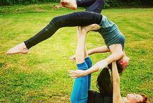 Partner akrobatik / einfach