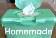 Homemade baby products