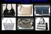 Thursdays Are All Ways Chic July 31,2014 / Choice Auction at 10 PM at OneCentChic.com