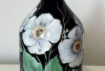 jarrón  decorado