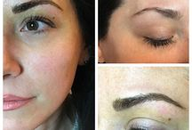 Microblading Brow / Can be called 3D brows or hair strokes is semi-permanent make up. Stability is up to one year to eighteen month and then needs to be done refreshment or touch-up. We manually apply a natural eyebrow tattoo of individual hair strokes to your skin in order to create attractive, realistic brows.