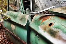 Old Cars and Wrecker Shots