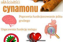 Cynamon / Zaskakujące właściwości cynamonu