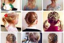 Girl's Hair Style Ideas