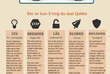 Infografic / Cykel tips og tricks