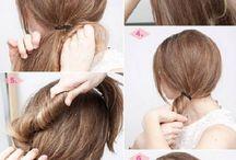 Easy Hairstyles - Peinados faciles / Easy hairstyles for everyday - Peinados rápidos y sencillos para todos los días.