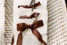 Brown Wedding // / Brown wedding inspiration and ideas