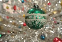 Holiday Decor / Our fun ornaments & christmas cheer!