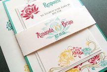 Trouwkaarten - Art nouveau / Voorbeelden en inspiratie voor trouwkaarten in Art Nouveau stijl. Binnenkort op Drukwerkdeal.nl