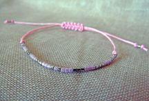 Bracelet minimaliste en perles Miyuki