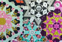 Millefiore Quilts - hexagon paper pieces