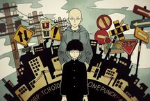 Mob Pyscho 100 and One Punch Man