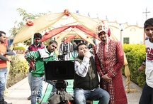 Behind the scenes / These are Official Behind The Scene images for the film FER MAMLA GADBAD GADBAD