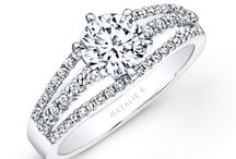 Belle Collection / Edgy and unique diamond engagement rings for the rock star girl in your life.