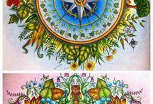 Jardim Secreto e outros livros de colorir / Jardim Secreto
