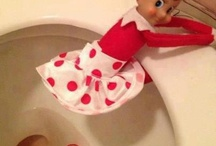 Christmas Elf on the shelf ideas / by Dawn Bourgeois-Calandrino