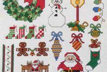 Advent Christmas Cross Stitch