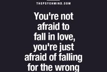 Fear of falling in love ❤️ to wrong person ‍?