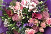 Seasons Bouquets & Arrangements / Here is a collection of our Bouquets, Arrangements and Baskets.