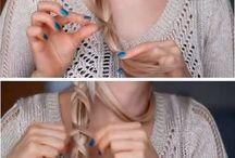 peinados - cabello - hair / by T & M TELARES Y MANUALIDADES (Crafts)