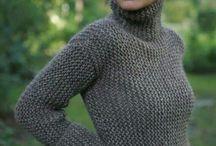 свитер платочкой