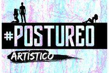 Postureo artístico / Dibujo e ilustraciones basadas en el postureo, en este caso, artístico y divertido, creadas por un diseñador gráfico - L.León