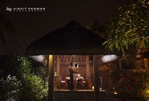 Honeymoon Shoot at The Oberoi in Maurititus / My first Honeymoon Shoot which took place The Oberoi Hotel in Mauritius.  A stunning venue with a stunning couple.  Some amazing photographs in the dark with all light needing to be created using a range of different tools!