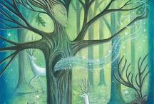 Fantastic Trees / Trees in mythology, folklore, fantasy