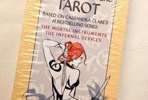 Mortal instruments tarot cards