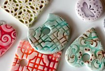 Polymer and metal clay