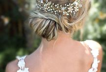 Прически свадьба