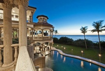 Oceanfront Homes / Beautiful homes along the sea