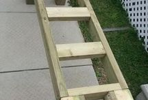 patio deck bench