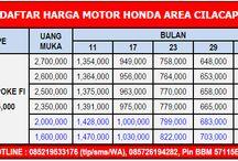 DAFTAR HARGA MOTOR HONDA AREA CILACAP / HOTLINE  Telkomsel : 0852-1953-3176  (tlp/sms/whatsapp) XL : 0819-0353-3190  (tlp/sms) Indosat : 0857-2619-4282  (tlp/sms) Pin BB : 57115E23