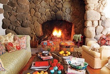 fireplaces / by Terri Williams