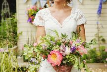 Boho Wedding Bouquets / Boho and natural style wedding bouquets