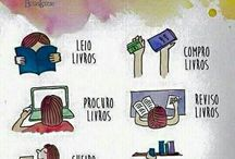 sobre livros...