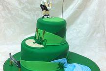 more cake ideas / Golfing around