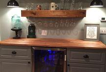 Kitchen dry bar