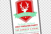 Fugly Sweater Party / Ideas